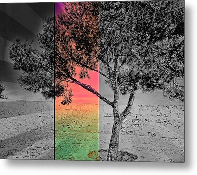 Show Me The Light Metal Print by Marianna Mills
