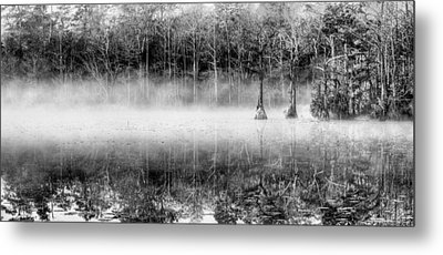 Shrouded Panoramic  Metal Print by JC Findley