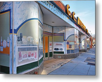 Shuttered Food Store Metal Print by Steven Ainsworth
