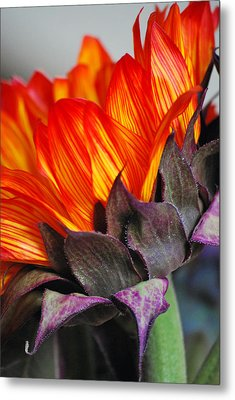 Side Of Beauty Metal Print
