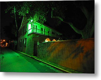 Side Street Metal Print by Peter  McIntosh