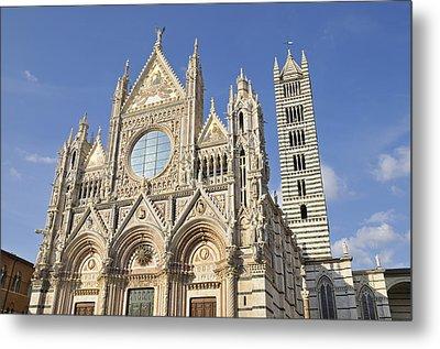 Siena Cathedral - Duomo Santa Maria Assunta Metal Print by Matthias Hauser
