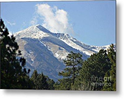 Sierra Blanca Clouds 3 Metal Print