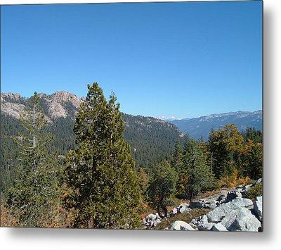 Sierra Nevada Mountains 2 Metal Print by Naxart Studio