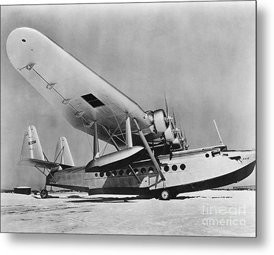 Sikorsky S-42 Metal Print by Photo Researchers
