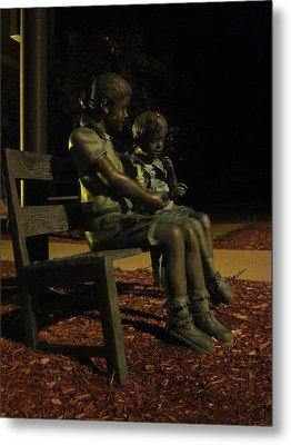 Silent Children Metal Print by Guy Ricketts