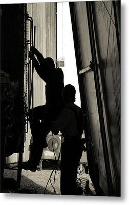 Metal Print featuring the photograph Silhouette by Bob Wall