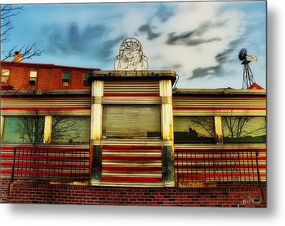 Silk City Lounge Metal Print by Bill Cannon