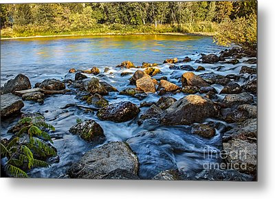 Silk Water Metal Print by Robert Bales