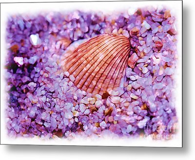 Silver Bells And Cockle Shells . . . Metal Print by Judi Bagwell