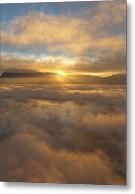 Silver Lake Sunrise Metal Print by Mark Greenberg