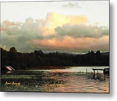 Metal Print featuring the photograph Silver Lake Sunset by Sadie Reneau