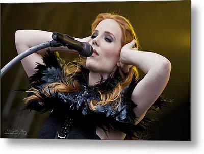 Simone Simmons Epica Metal Print by Natalia Kempin