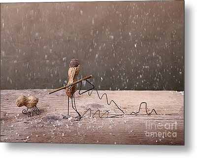 Simple Things - Christmas 03 Metal Print by Nailia Schwarz