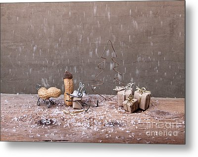 Simple Things - Christmas 07 Metal Print by Nailia Schwarz