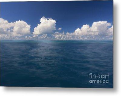 Simplicity Great Barrier Reef Metal Print