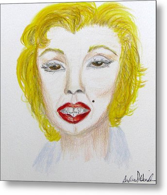 Simply Marilyn Metal Print