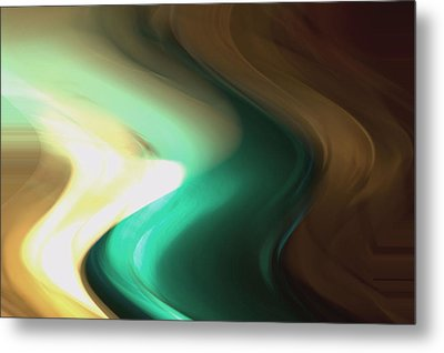 Metal Print featuring the mixed media Sine Of Ninety by Terence Morrissey