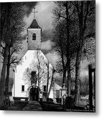 Sint Jin Chapel Metal Print