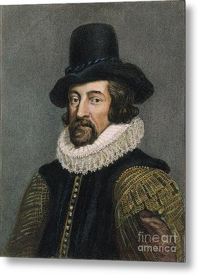 Sir Francis Bacon (1561-1626) Metal Print by Granger