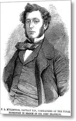 Sir Francis L. Mcclintock Metal Print by Granger