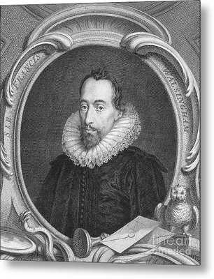Sir Francis Walsingham Metal Print by Granger