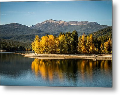 Metal Print featuring the photograph Siskiyou Lake by Randy Wood