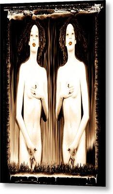 Sisters Of Silence Metal Print