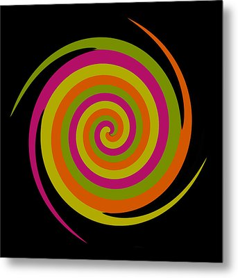Metal Print featuring the photograph Six Squared With A Twirl by Steve Purnell