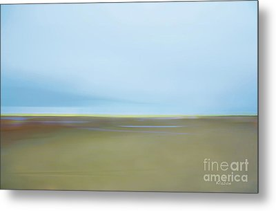 Metal Print featuring the photograph Skaket Tidal Flats by David Klaboe