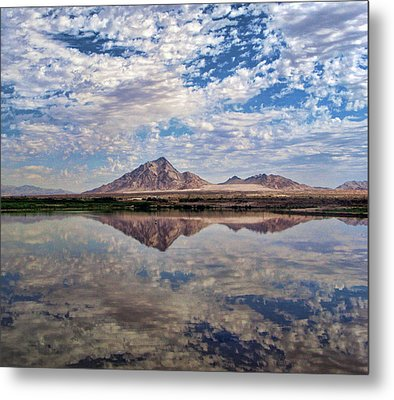 Metal Print featuring the photograph Skies Illusion by Tammy Espino