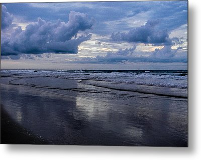 Sky And Shore Metal Print by Christy Usilton