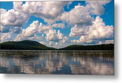 Sky At Fawn Lake Metal Print
