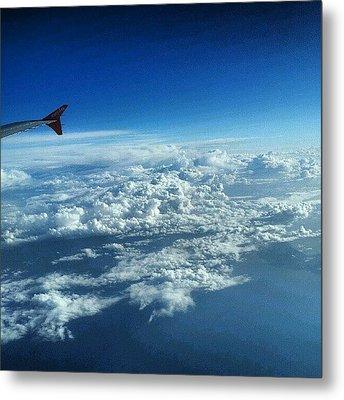 #sky #cloudy On The Way To #jordan Metal Print by Abdelrahman Alawwad