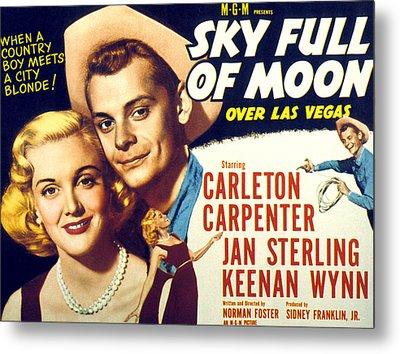 Sky Full Of Moon, Jan Sterling Metal Print by Everett
