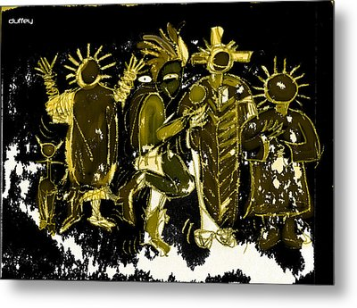 Sky People 5 Metal Print