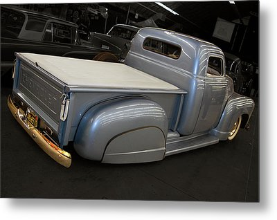 Metal Print featuring the photograph Slammed Pickup by Bill Dutting