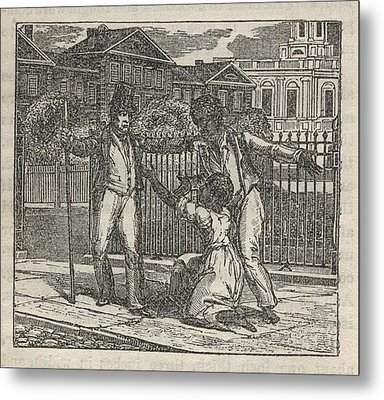 Slave Henry Bibb Was Assigned Find Metal Print by Everett
