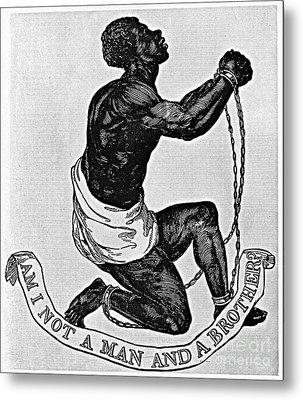 Slavery: Abolition, 1835 Metal Print by Granger