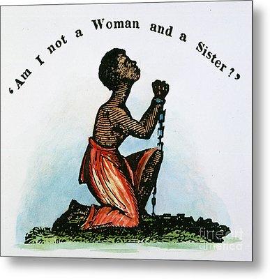 Slavery: Woman, 1832 Metal Print by Granger