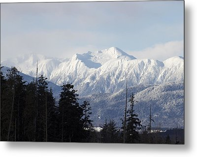 Sleeping Beauty Mountain Metal Print by Sylvia Hart