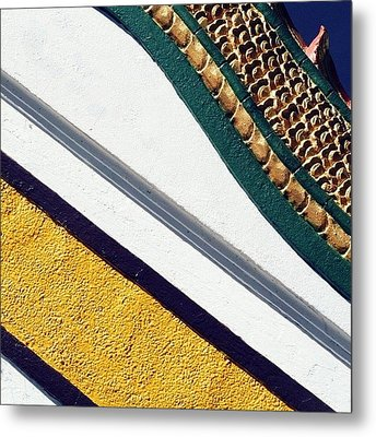 Slice Of Cake #thailand #temple Metal Print by A Rey