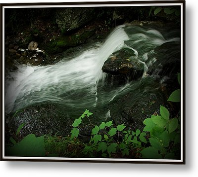 Slide Metal Print by Priscilla Richardson