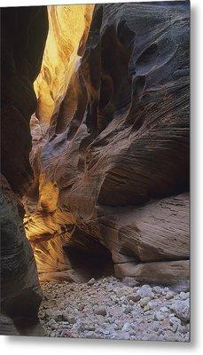Slot Canyon Metal Print by Cliff Wassmann
