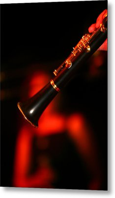 Slow Jazz Metal Print