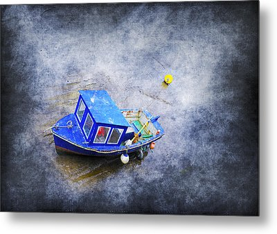 Small Fisherman Boat Metal Print by Svetlana Sewell