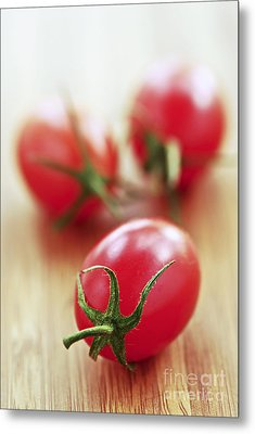 Small Tomatoes Metal Print
