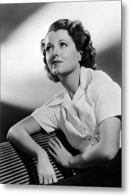 Small Town Girl, Janet Gaynor, 1936 Metal Print by Everett