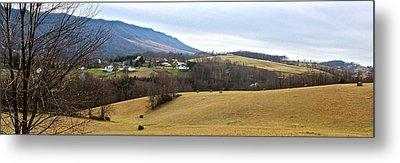 Small Town Metal Print by Kume Bryant