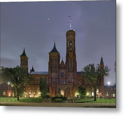 Metal Print featuring the photograph Smithsonian Castle by Metro DC Photography